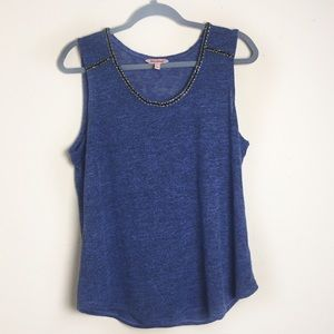 Juicy Couture Embellished Tank Top NWOT